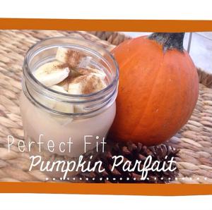 Pumpkin Spice Parfait